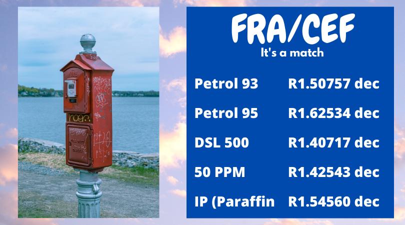 Fuel Update 23 March 2021